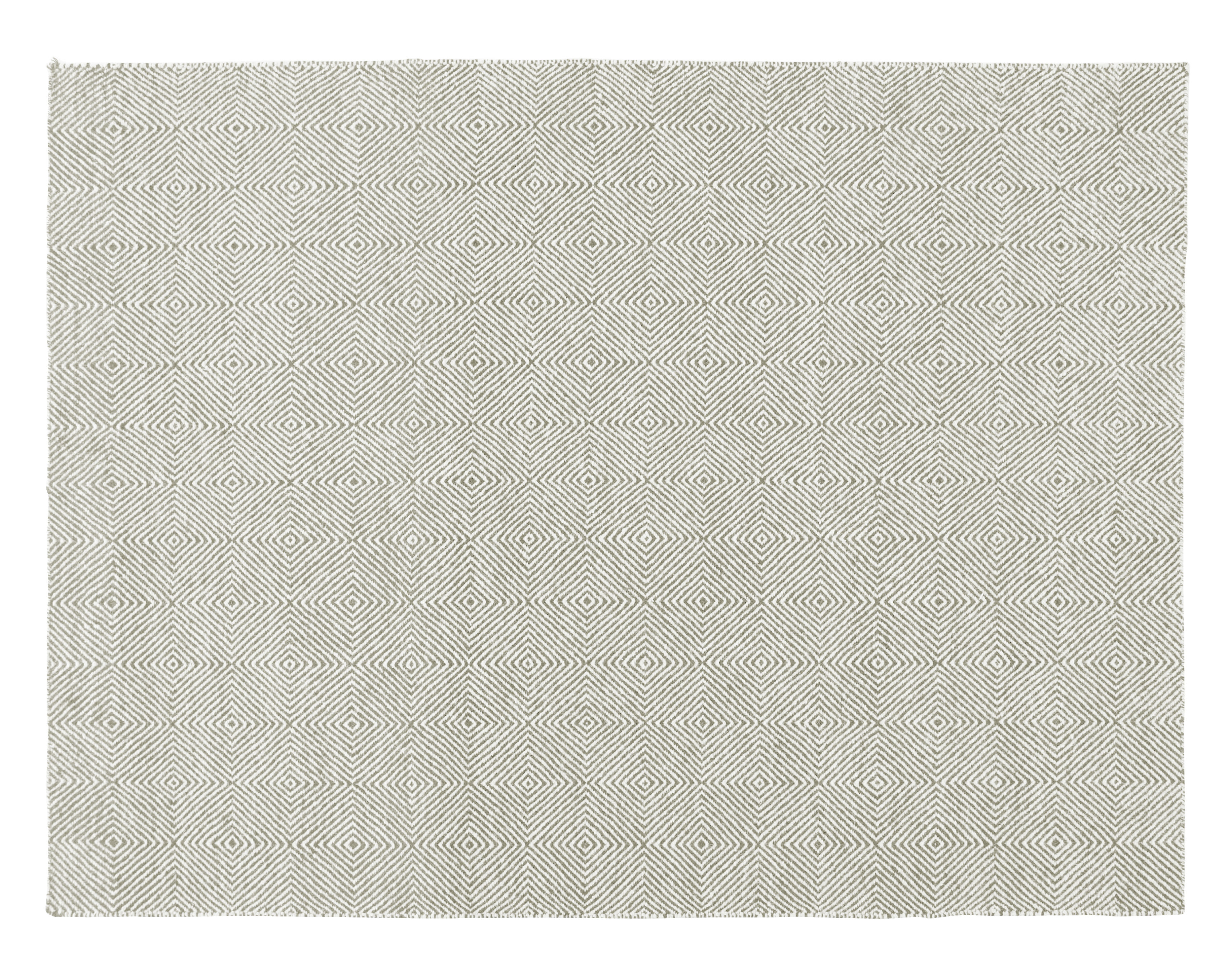 Decoration - Rugs - Sail Rug - / 200 x 150 cm by Gan - Taupe - Virgin wool