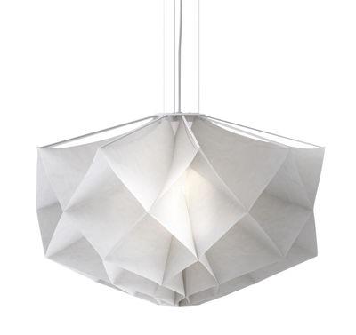 Luminaire - Suspensions - Suspension Albedo - Moyen modèle Ø 70 cm - Fontana Arte - Moyen modèle - Acier, Tissu