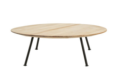 Table basse Agave / Ø 110 cm - Ethimo bois naturel en bois