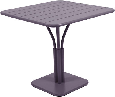 Table carrée Luxembourg Fermob - Prune - L 80 x l 80 x h 74 | Made In Design