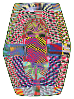 Déco - Tapis - Tapis Freaky / 395 x 288 cm - Moooi Carpets - Multicolore - Polyamide