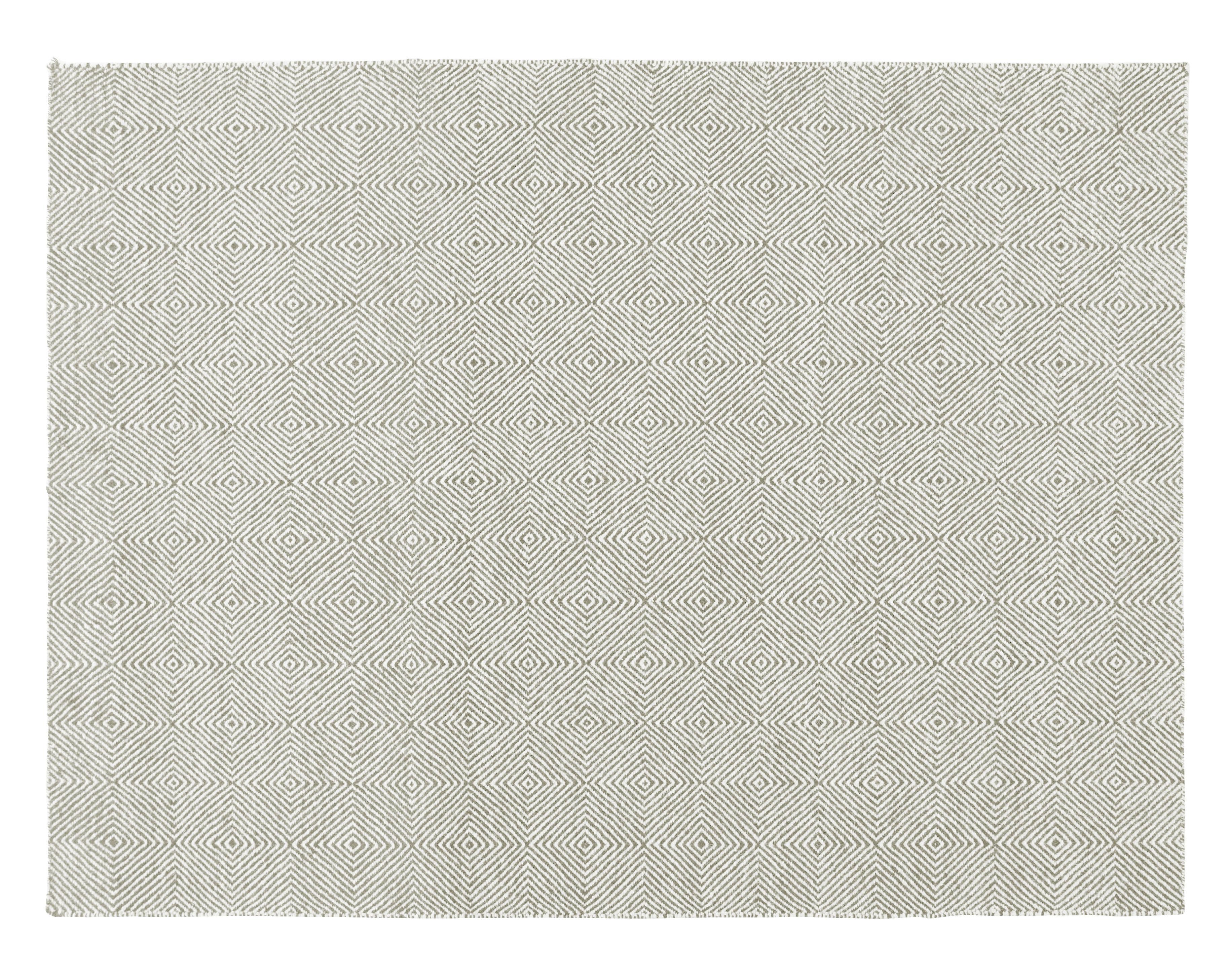 Déco - Tapis - Tapis Sail / 200 x 150 cm - Gan - Taupe - Laine vierge
