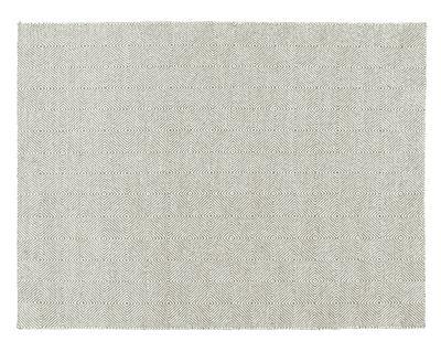 Interni - Tappeti - Tappeto Sail - / 200 x 150 cm di Gan - Grigio talpa - Lana vergine