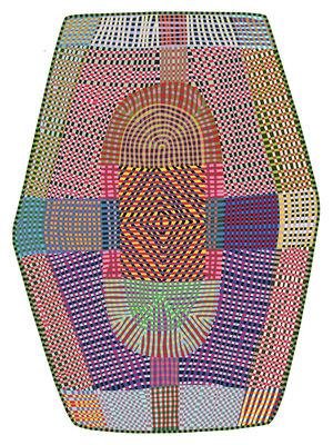 Freaky Teppich / 395 x 288 cm - Moooi Carpets - Bunt
