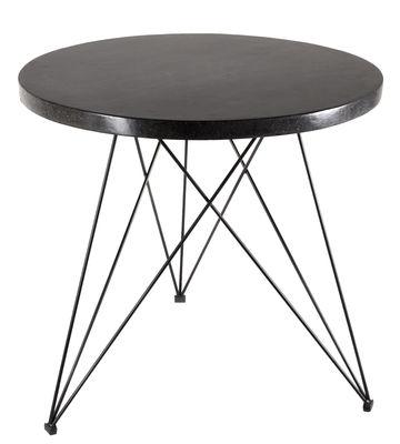 Sticchite Tisch / Ø 80 cm - Terrazzo - Serax - Schwarz