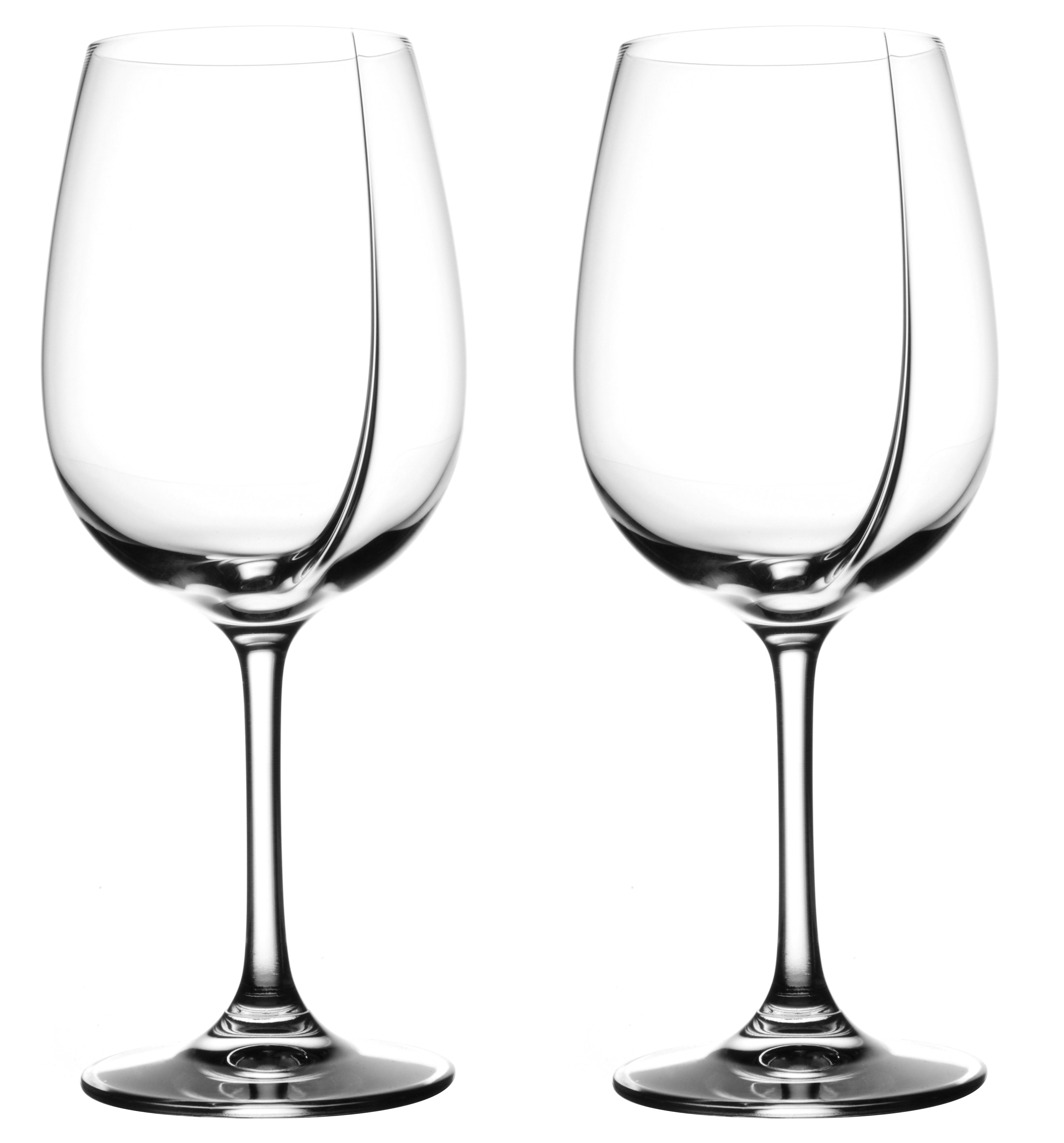 Tableware - Wine Glasses & Glassware - L'Exploreur Classic Wine glass - Set of 2 tasting glasses by L'Atelier du Vin - Clear - Blown glass