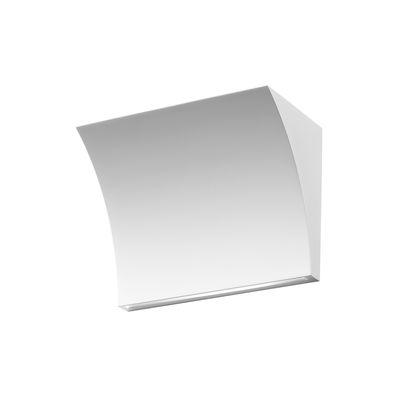 Applique Pochette Up / Down LED / Eclairage vers le haut & bas - Flos blanc en métal