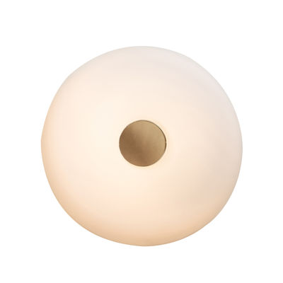 Applique Tropico Grande LED / Plafonnier - Ø 48 cm / Verre soufflé - Fontana Arte or,blanc opalin en verre