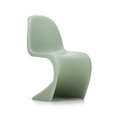 Furniture - Chairs - Panton Chair Chair - / By Verner Panton, 1959 -  Polypropylene by Vitra - Sweet mint - Tinted polypropylene