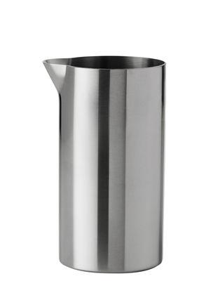 Tableware - Water Carafes & Wine Decanters - Cylinda-Line Creamer by Stelton - Steel - Stainless steel