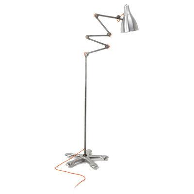 Lighting - Floor lamps - Mirobolite Floor lamp - H 160 cm by Tsé-Tsé - Metal - Varnished raw steel