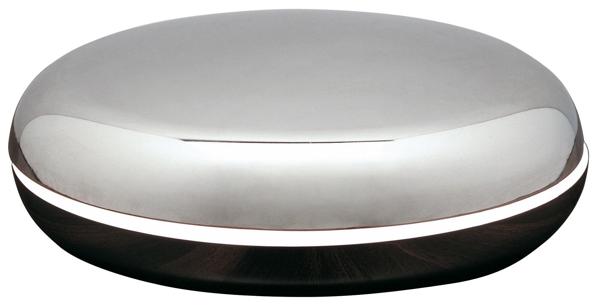 Illuminazione - Lampade da tavolo - Lampada da tavolo Loop di Fontana Arte - Alluminio - Acciaio inossidabile