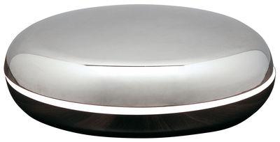 Luminaire - Lampes de table - Lampe de table Loop - Fontana Arte - Aluminium - Acier inoxydable