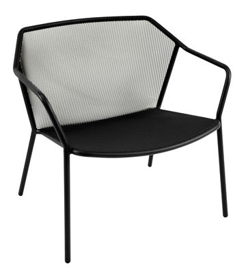 Darwin Lounge Sessel / Metall - Emu - Schwarz