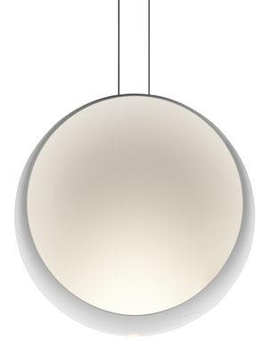 Leuchten - Pendelleuchten - Cosmos Pendelleuchte LED / Ø 48 cm - Vibia - Weiss - Polykarbonat
