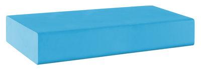 Pouf Matrass Mat 150 - Quinze & Milan bleu ciel en matière plastique