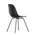 Sedia DSX - Eames Plastic Side Chair - / (1950) - Gambe nere di Vitra