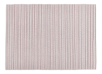 Arts de la table - Nappes, serviettes et sets - Set de table Iittala X Issey Miyake / Tissu - Iittala - Rose clair - Polyester