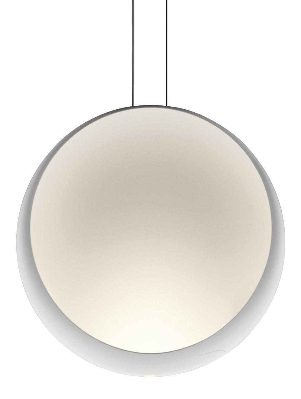 Illuminazione - Lampadari - Sospensione Cosmos - LED / Ø 48 cm di Vibia - Bianco - policarbonato