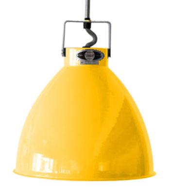 Suspension Augustin XL Ø 54 cm - Jieldé moutarde brillant en métal