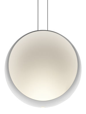 Luminaire - Suspensions - Suspension Cosmos LED / Ø 48 cm - Vibia - Blanc - Polycarbonate