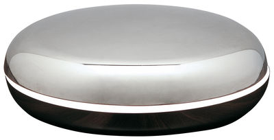 Lighting - Table Lamps - Loop Table lamp by Fontana Arte - aluminium et nickel - Stainless steel