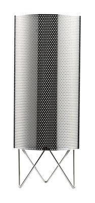Pedrera H2O Tischleuchte Ø 13 x H 33 cm - Gubi - Metall glänzend