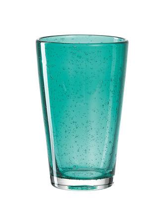 Verre long drink Burano / 470 ml - Fait main - Leonardo bleu vert lagune en verre