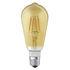 Lampadina LED E27 connessa - / Smart+ - Incandescenza Edison 5,5W=45W di Ledvance