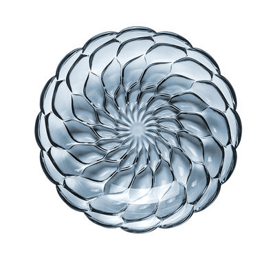 Assiette creuse Jellies Family / Ø 22 cm - Kartell bleu en matière plastique