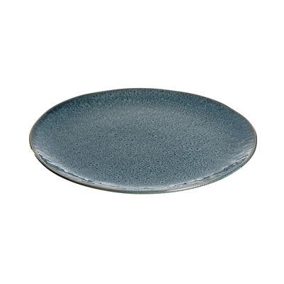Assiette Matera / Grès - Ø 27 cm - Leonardo bleu en céramique