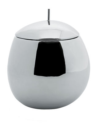 Tableware - Boxes and jars - Fruit basket Box by Alessi - 100 cl. - Stainless steel