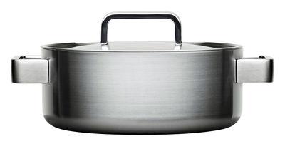 Cucina - Pentole, Padelle e Casseruole - Casseruola Tools - / 3L - Con coperchio di Iittala - Acciaio - Acciaio inossidabile