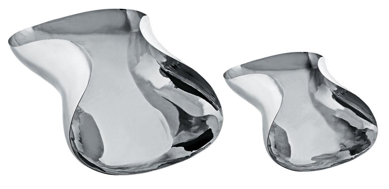 Tavola - Piatti da portata - Cesto Marli di Alessi - Acciaio - L 36 cm - Acciaio inossidabile