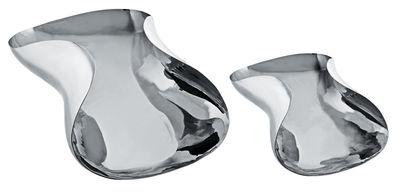 Arts de la table - Plats - Corbeille Marli / 36 x 26 cm - Alessi - Acier - L 36 cm - Acier inoxydable