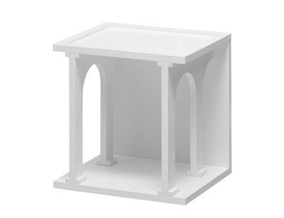 Etagère Renaissance 40 x 40 cm Seletti blanc mat en bois