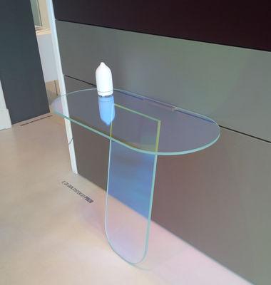 Tisch Shimmer design Patricia Urquiola Glas Italia