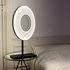 Lampada da tavolo Iris - LED / H 61 cm - Tessuto & illuminazione a due facce di Dix Heures Dix