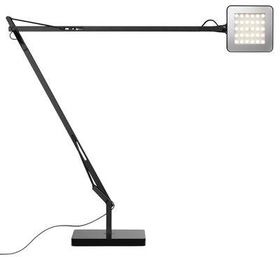 Lampe de table Kelvin LED Green / Avec économiseur d'énergie - Flos noir en métal