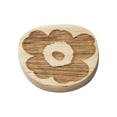 Tavola - Posate - Poggia bacchette - / Set di 2 di Marimekko - Poggia-bacchette / legno - Legno di albero della gomma
