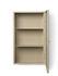 Portaoggetti da parete Haze - / L 35 x H 60 cm - Vetro scanalato di Ferm Living