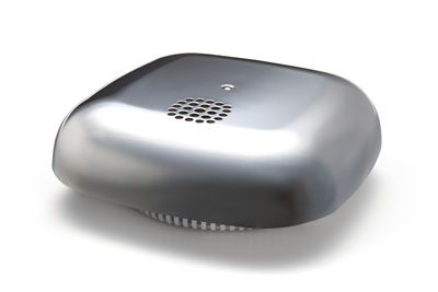 Accessoires - Praktische Accessoires - Kupu Rauchmelder / selbstklebend - Jalo Helsinki - Chrom-glänzend - Gewebe, Plastikmaterial