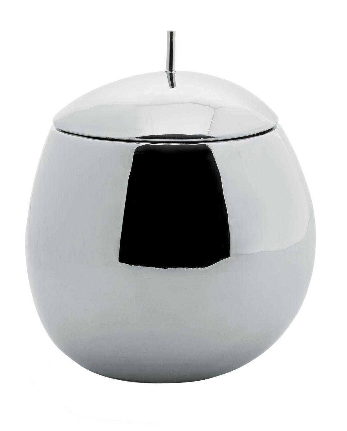 Tischkultur - Boxen und Töpfe - Fruit basket Schachtel - Alessi - 100 cl. - rostfreier Stahl