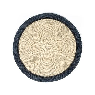 Tavola - Tovaglie e Tovaglioli - Set da tavola Globe - / Rafia intrecciata a mano di Maison Sarah Lavoine - Blu naturale - Raphia