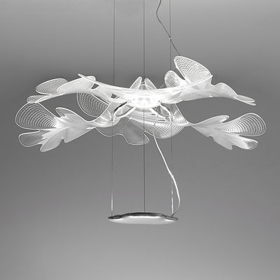 Illuminazione - Lampadari - Sospensione Suspension Chlorophilia Simple LED - / Bluetooth - Ø 77 di Artemide - Trasparente - Alluminio, PMMA
