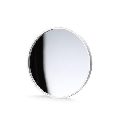 Illuminazione - Lampade da tavolo - Specchio - magnetico / Per lampada Gaku di Flos - Bianco - policarbonato, Vetro