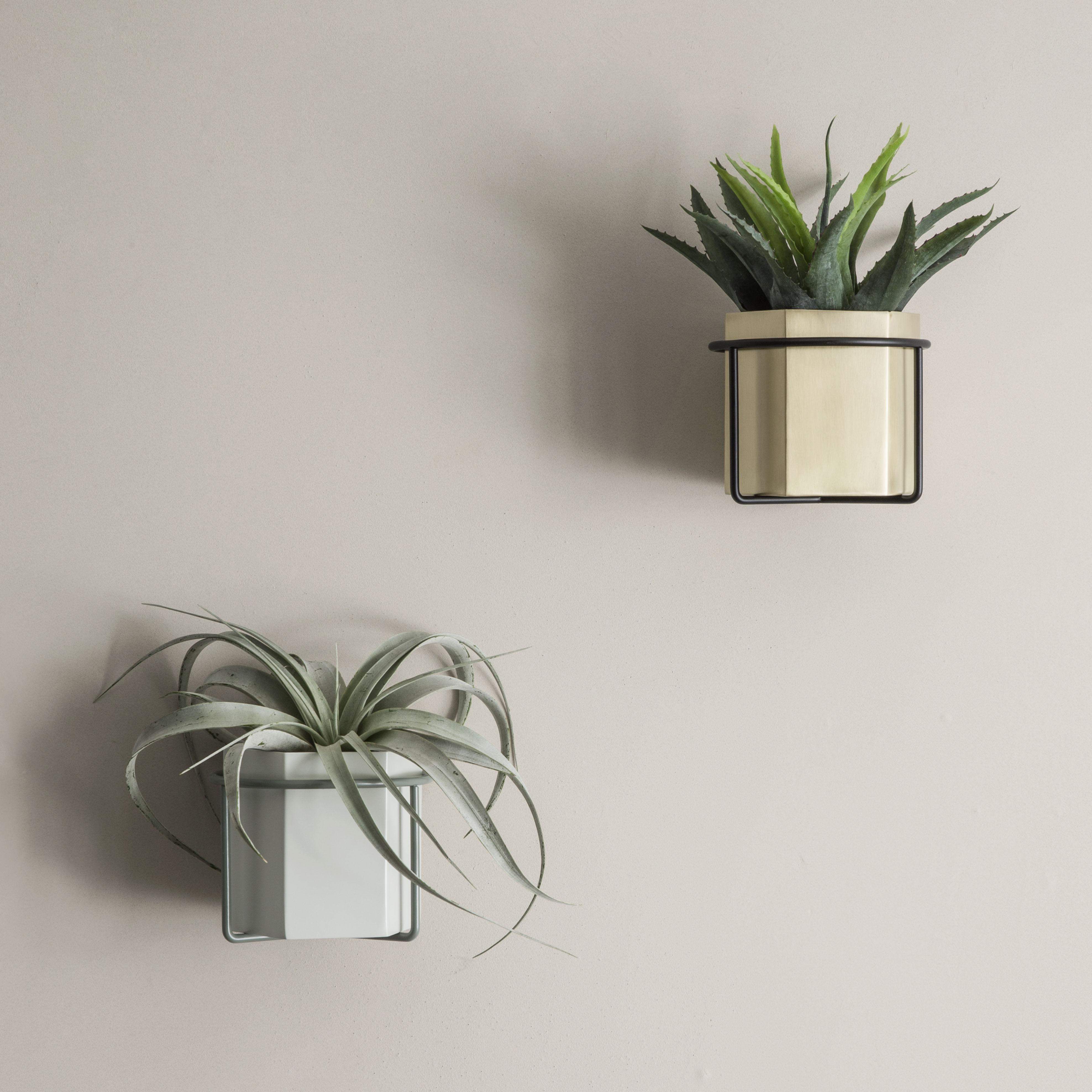 Support Mural Plant Pour Pot De Fleurs Gris Ferm Living Made