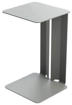 Table d'appoint Leste - Matière Grise gris en métal