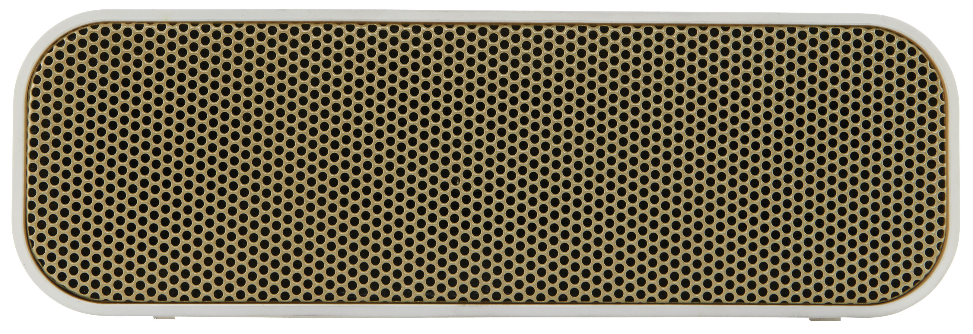 Valentine's day - Valentines Day: Our best ideas for Her - aGROOVE Bluetooth speaker - Wireless by Kreafunk - White, Gold - Plastic material