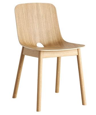 Furniture - Chairs - Mono Chair - / Oak by Woud - Oak - Oak plywood, Solid oak